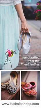Roll Up Banner - Fuschia Shoes