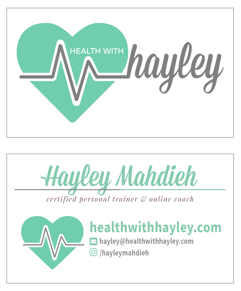 Health With Hayley Business Card