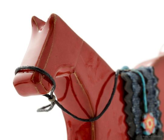 cavallino a dondolo aperto cm.16