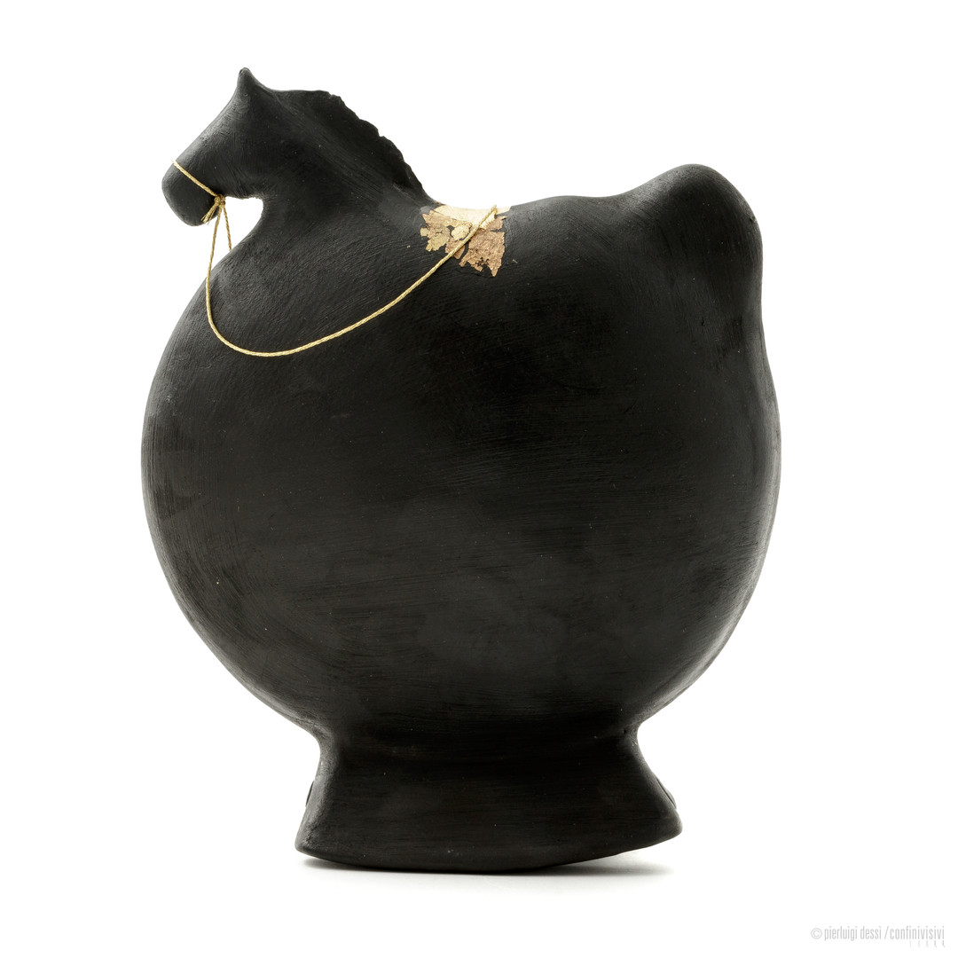 cavallino a dondolo tondo cm.17
