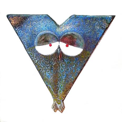 civettona triangolare cm. 35
