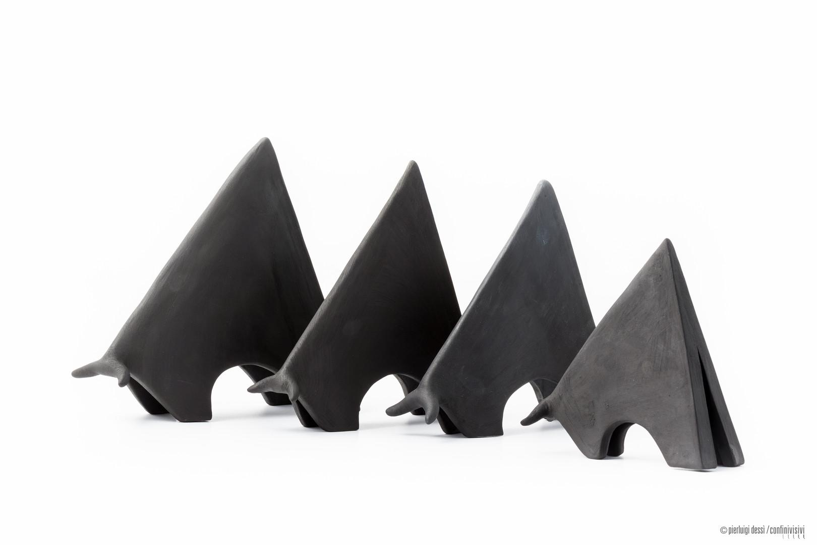 tori triangolari cm.17-15-13-11