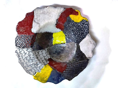 Ciotola frammenti piccola in raku