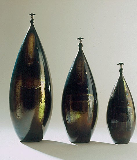 bottiglie toro cm. 52-42-32