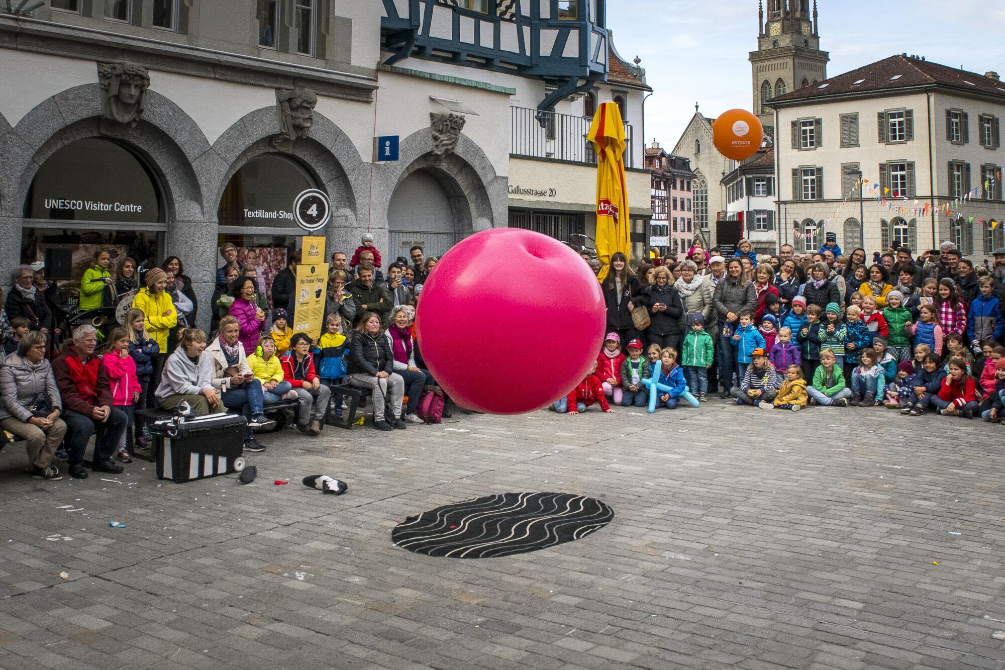 © Gauklerfest Ball-Künstler