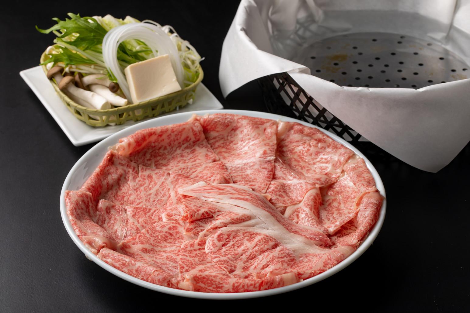 プレミアム信州牛 しゃぶ鍋ランチ