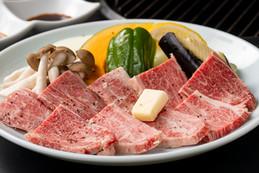 プレミアム信州牛のステーキ