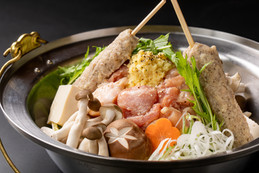 とり塩生姜鍋