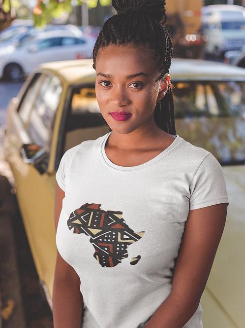 """Tshirt Unisexe """"MAP AFRICA BOGOLAN"""""""""""