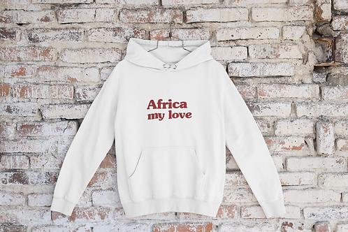 HOODIE Africa My Love