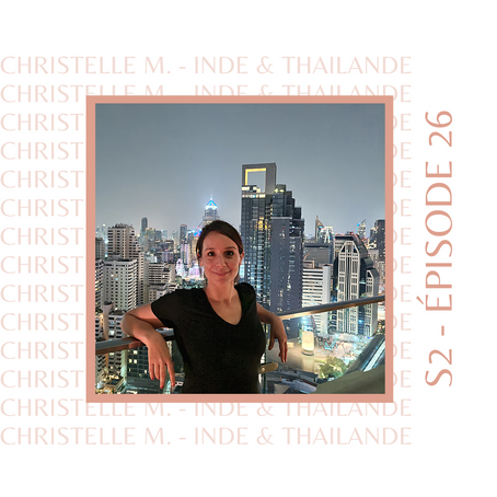 Christelle : Celle qui voulait vivre à l'étranger