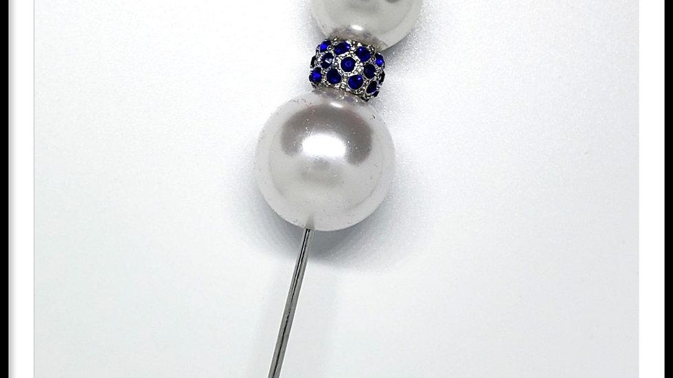Sapphire & Pearls
