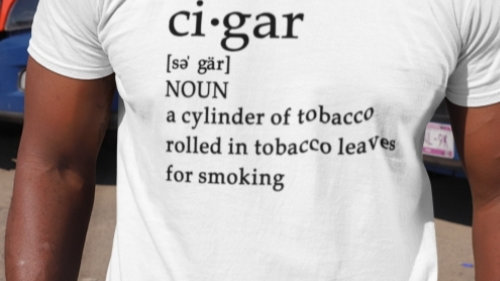 Ci- Gar Short Sleeve Tee