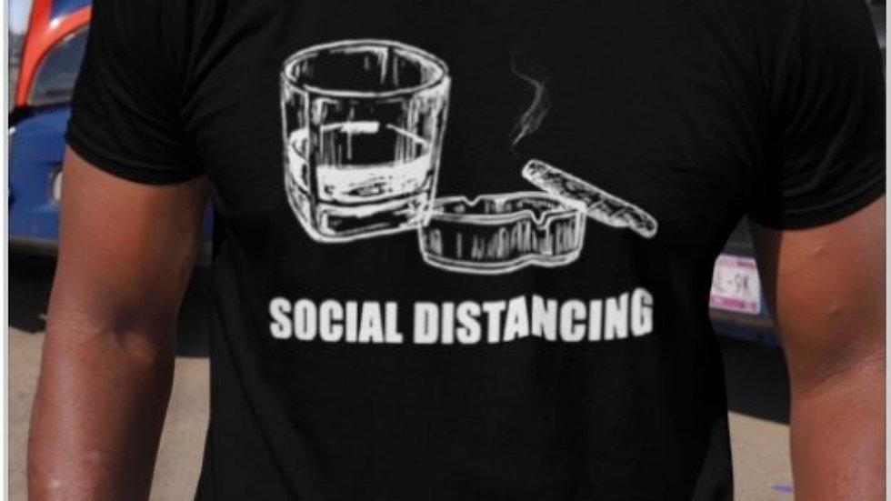Cigar&Whiskey Social Distancing [unisex]