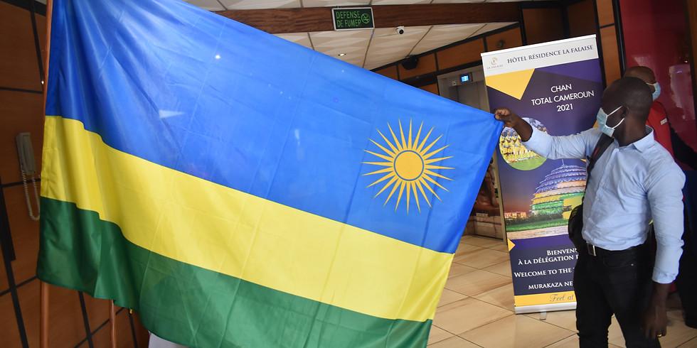 Arrivée de la délégation rwandaise dans le cadre de la CHAN Total Cameroun 2020
