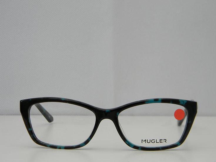 MUGLER 1039  -  BLACK/BLUE TORTOISE