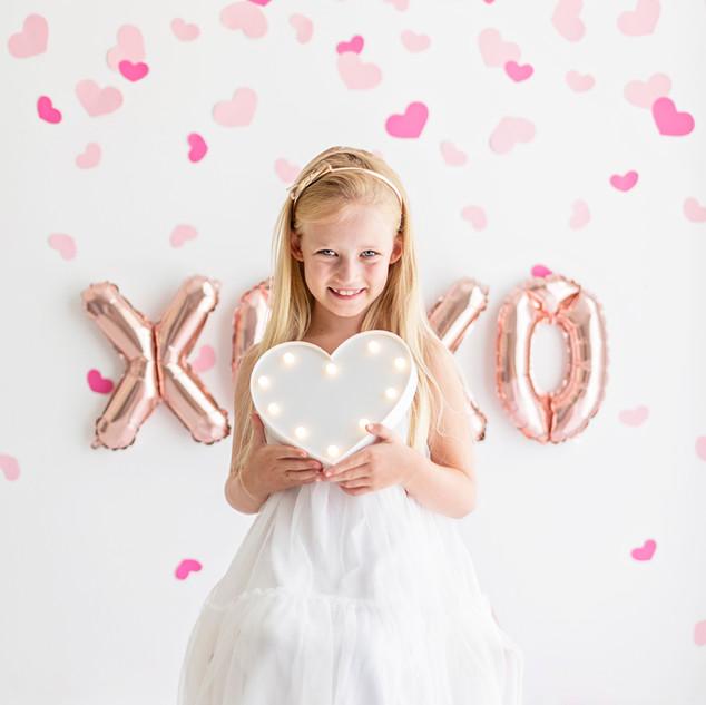 valentine kids photos