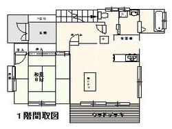 西村邸間取り 1階