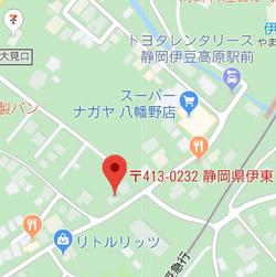 肥田・ビル 301 位置図