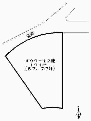 佐藤売土地(荻分譲地 地型