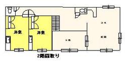 CTA012(竹ノ谷貸家)_2階間取り