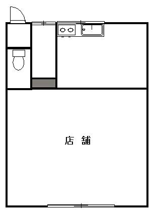 肥田隆店舗 間取図
