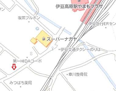 加藤位置図