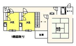 CTA012(竹ノ谷貸家)_1階間取り