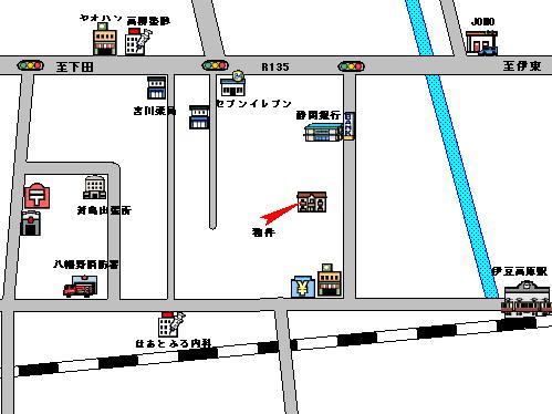 CA090(肥田アパート)位置図