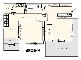土屋紀子邸間取り1階