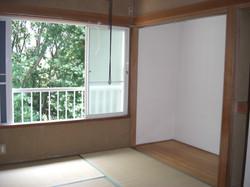 CA005(コーポ伊豆高原)和室6帖