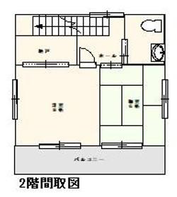 西村邸間取り2階