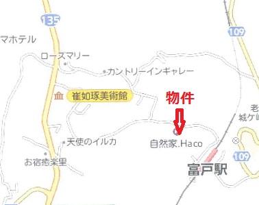 ヒルトップ位置図