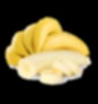Banana para acompanhar o açaí