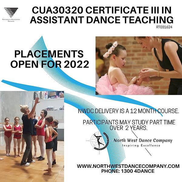 CUA30320 Certificate III in Assistant Dance Teaching.png
