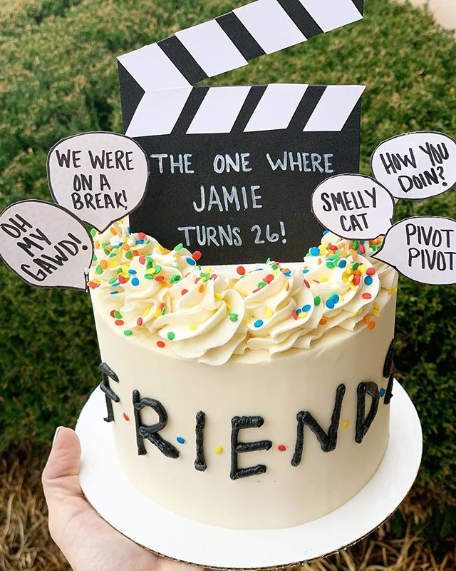 The One When I Made Another Friends Cake