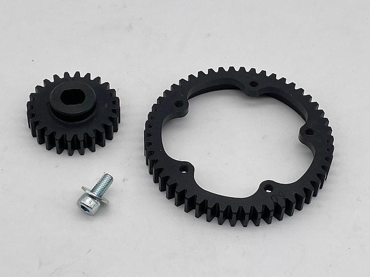 Blackbone Low Ratio & Two speed gear sets for Baja