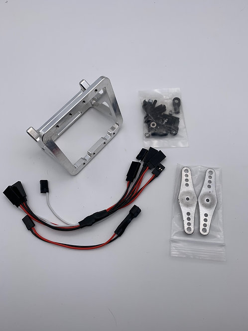 DarkSoul dual steering servo mount