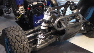 Inertia Racing Products Front Shock Perch and Rod ends for Kraken Vekta