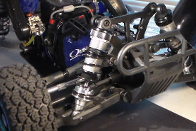 Inertia Racing Products Rear Shock Perch and Rod ends for Kraken Vekta
