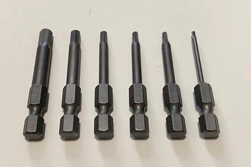RCMAX approved Hexbit / Tool kit 6 piece set