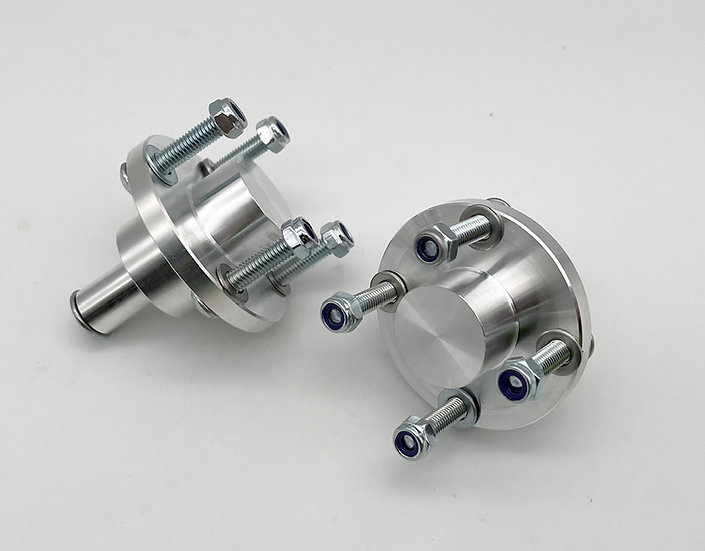7075 HD BRP Front wheel Adapters for Baja