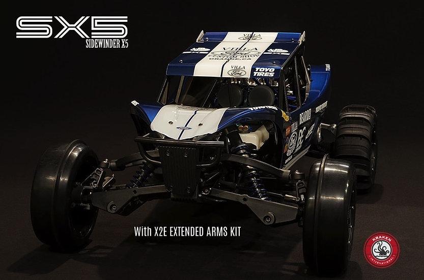 Kraken SX5 cage and body panel kit for Baja