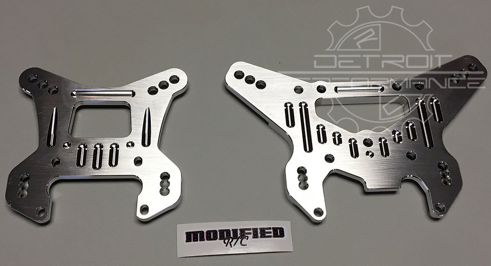Modified RC Shock Towers for Losi