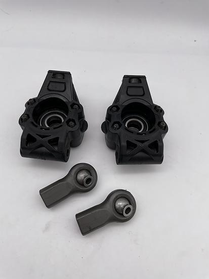 Genuine HPI Baja rear hub carrier and rod ends (used)