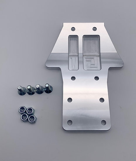 Replacement Rear chassis plate for RCMAX Losi Chassis