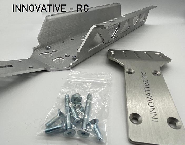 Innovative RC HD baja chassis/ kick up plate combo