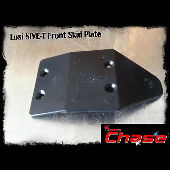 Team Chase Losi 5ive T Front Chassis Protector/Skid Plate
