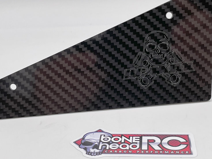 Bonehead RCMAX Number plates for Losi 5ive