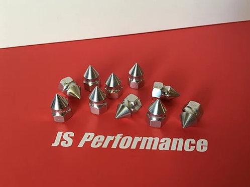 JS Performance Spike shock nuts for Raminator (x4)